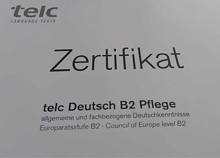 telc Zertifikat B2 Pflege
