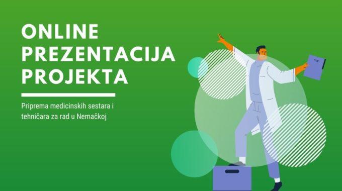 Online Prezentacija Projekta Ekspertska Migracija 11.05.2020.